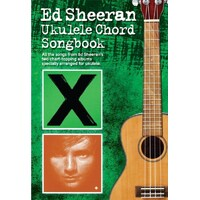 Ed Sheeran - Ukulele Chord Song Book *New* Sheet Music,