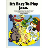 It's Easy To Play - Jazz Piano Book *NEW* Sheet Music, 15 Famous Pieces