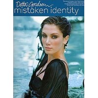 DELTA GOODREM - Mistaken Identity PVG Book *NEW* Piano Vocal Guitar Music Song