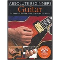 Absolute Beginners Guitar Book & CD *NEW* Complete Picture Guide To Playing