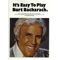 It'S Easy To Play - Burt Bacharach Piano Book *New* Sheet Music, 14 Songs