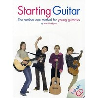 Starting Guitar For Young Guitarists Bk/Cd