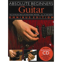 Absolute Beginners Guitar Book & CD *NEW* Complete Picture Guide, Omnibus Ed.