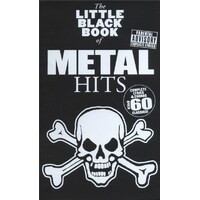 The Little Black Songbook Of Metal Hits *New* Lyrics & Chords Guitar