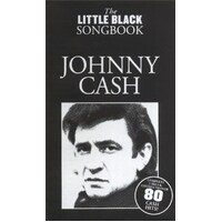 The Little Black Songbook: Johnny Cash Lyrics and Chords Book *NEW* Guitar, Song