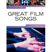 Really Easy - Great Film Songs Piano Book *New* Sheet Music, 22 Big Screen Hits