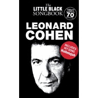 The Little Black Songbook: Leonard Cohen Lyrics And Chords Book *New* Guitar