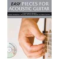 EASY PIECES FOR ACOUSTIC GUITAR BK/CD GTR
