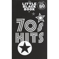 The Little Black Book Of 70S Hits Lyrics And Chords Book *New* Guitar, Song