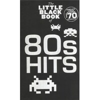 The Little Black Book Of 80S Hits Lyrics And Chords Book *New* Guitar, Song