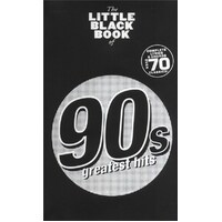 The Little Black Book Of 90S Greatest Hits Lyrics And Chords Book *New* Guitar