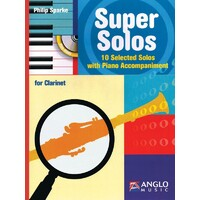 Super Solos For Clarinet Bk/Cd