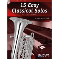 15 Easy Classical Solos Tuba Bk/Cd