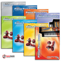 Alfred's Premier Piano Course - Technique Books
