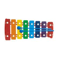 8 Note Glockenspiel Rainbow Colours