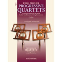 Progressive Quartets For Cello Book *New* Sheet Music, Carl Fischer