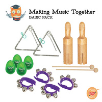 Making Music Together Basic Percussion Pack