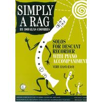 Simply A Rag Descant Recorder/Piano