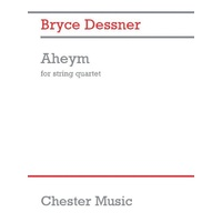 Aheym For String Quartet Full Score