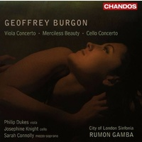 *NEW* BURGON - Merciless Beauty / Concertos CD Gamba