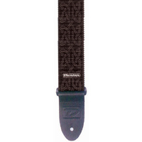 Jim Dunlop Guitar Strap Celtic Grey *NEW* 2 Inch Tough Nylon, Leather Ends