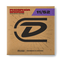 Dunlop 11-52 Phosphor Bronze Acoustic