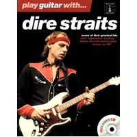 Play Guitar With Dire Straits Tab Book & Cd *New* 7 Songs