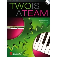 Two Is A Team Flute And Piano Bk/Cd