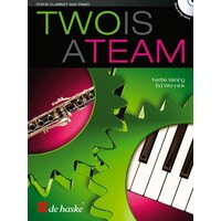 Two Is A Team Clarinet And Piano Bk/Cd
