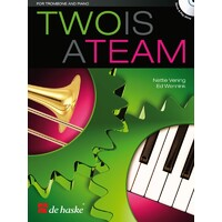 Two Is A Team Trombone And Piano Bk/Cd