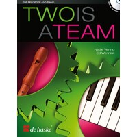 Two Is A Team Recorder And Piano Bk/Cd