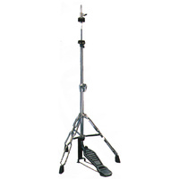 DXP Hi Hat Cymbal Stand 200 Series, Chrome Double Braced Height Adjustable