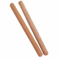 30 X MANO PERCUSSION 8 Inch Rhythm Sticks Hardwood 1 x Plain and 1 x Ribbed
