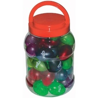 CPK - 20 Pairs Of Egg Shakers / Maracas *NEW* Bulk School Percussion 5 Colours