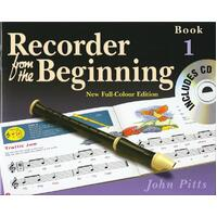 RECORDER FROM BEGINNING PUPILS BK 1 BK/CD NEW