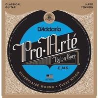 D'Addario EJ46 Pro-Arte Hard Tension Classical Guitar Strings Daddario
