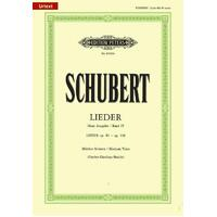 Schubert - Songs Vol 4 Medium Voice
