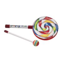 Kids Percussion Lollipop Drum 6 inch