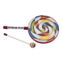 Kids Percussion Lollipop Drum 8 inch