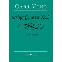 Vine - String Quartet No 3 Parts