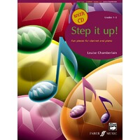 Step It Up! Clarinet And Piano + Cd