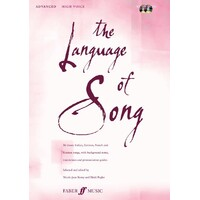 Language Of Song Advanced High Voice