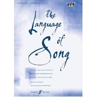 Language Of Song Advanced Low Voice