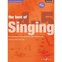 Best Of Singing Gr 4-5 Low Voice/Cd
