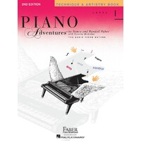 PIANO ADVENTURES TECHNIQUE ARTISTRY BK 1 2ND EDN