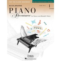 ACCELERATED PIANO ADVENTURES SIGHTREADING BK1