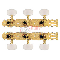 Classical Guitar Machine Heads Gold Lyre Style