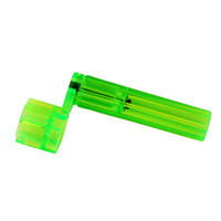 PARTSLAND - CHUNKY Guitar String Winder *NEW* Transparent Green Plastic, Peg