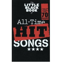The Little Black Book Of All-Time Hit Songs *NEW* Sheet Music, Guitar, Lyrics