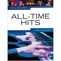 Really Easy - All Time Hits Piano Book *NEW* Sheet Music, 19 Best Chart Songs